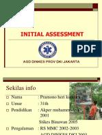 4. Initial Assessment