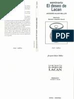 El Deseo de Lacan [Jacques-Alain Miller]