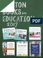 Norton Books in Education 2017