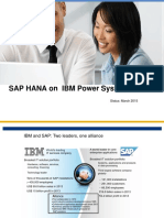 RTP Power Users Group HANA on Power Update 032415