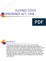 THE EMPLOYEES' STATE INSURANCE ACT, 1948