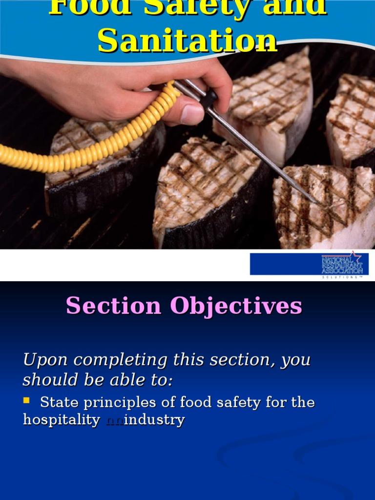 Food Safety and Sanitation ppt | Foodborne Illness | Hygiene