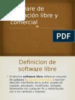 Software de aplicación libre y comercialHMRO 1-P