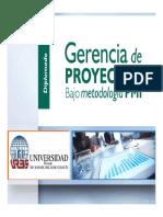 gerencia de proyectos urbe