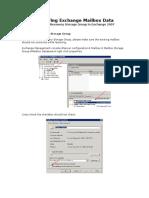 Restoring Exchange Mailbox Data V1.0