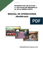 Manual de Operaciones Del Proyecto Sierra Norte