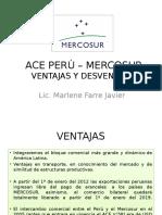 Mercosur con el Perú