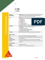 PDS Sikadur-43 LP