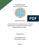 Impactos Sector Pesquero Pisco en La Calidad Del Aire