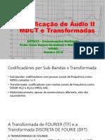 Codificação de Audio II_2016