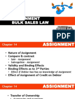 Law on Sales - Assignment Topic