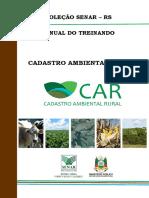 Cadastro Ambiental Rural - Treinando