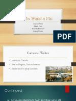 world is flat presentation