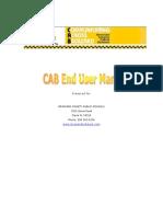 CAB End User Manual Pt I