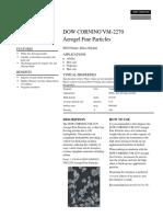 Infosheet Dow Corning VM2270 Product Information
