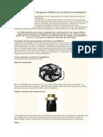 Posible Causa de La Falla Del Cuerpo de Aceleracion Del Carro Fiat Palio