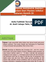 256177487-Pola-Resistensi-Antibiotik-Bakteri-Yang-Diisolasi-Dari-Pasien.pptx