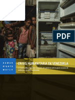 Informe de Human Rights Watch