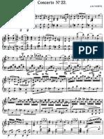 Viotti Violin Concerto 22 Score