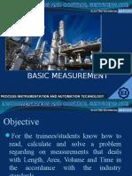 1.1-3 Basic Measurement