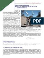 Carta a Los Cristianos Mayo 2010