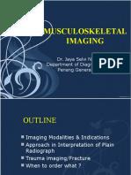 Musculoskeletal Imaging 2015