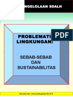 Problema Lingkungan Sebab Sebab Sustainabilitasnya