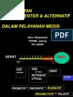 2014 Pengobatan Komplementer Dan Alternatif Dalam Pelayanan Medis_short