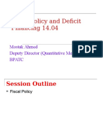 Fiscal Policy[1]