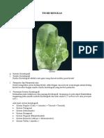 Kristalogi Dan Mineralogi