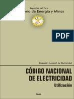 Codigo Nacional Electricidad - Utilizacion 2006