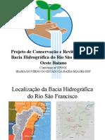 Apresentação Proj São Francisco p Brasília 09-05-2003