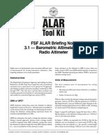 Alar Bn3 1 Altimeter