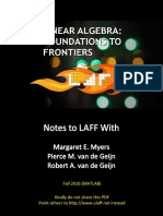 LAFF-2.00M ( linear algebra foundations to frontiers )