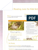 Reading Juice for Kids 3 - Textbook