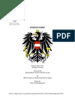 Positional Paper for BANMUN sample