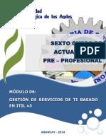Modulo - Gestion de Servicios Ti Basado en Itil v3