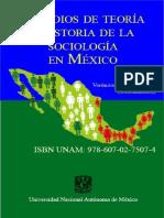 Estudios y Teoria de la Sociología en México