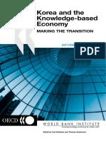 Korea and the Knowledge-based Economy