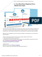 Cara Buat Akun Registrasi Guru Pembelajar Secara Mudah Dan Cepat _ Guru Sekolah Dasar