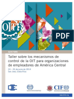 How Employers Organisations Can Impact the ILO Supervisory Mechanism Takes Place Description Spanish Only
