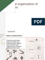 Spatial Organization of Masses