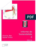 Informe  GRI Alicorp 2015