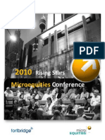 Clover Corporation at Microequities 2010 Rising Stars Microcap Conference