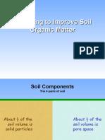 Improving Soil Organic Matter