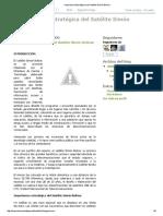Importancia Estratégica del Satélite Simón Bolívar