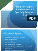 IA Behavior Presentation