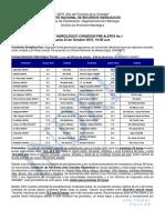 Boletín Hidrológico Condición Pre-Alerta No.1 24-10-2016