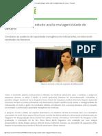 Combate a Pulgas_ Estudo Avalia Mutagenicidade de Veneno