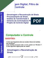 Aula de Controle Digital Seborg Capítulo 17